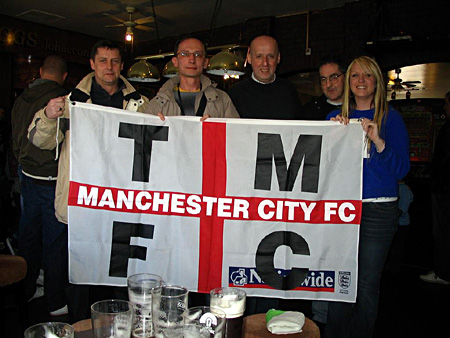 Manchester City v Chelsea. Torpedo away team in Manchester. 5 апреля 2008 года